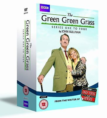 £9.50 • Buy The Green Green Grass - Series 1-4 - Complete - English (DVD, 2014, 8-Disc Set,