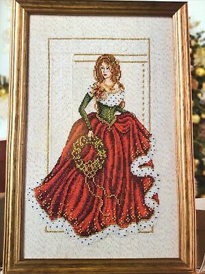 £1.99 • Buy (X0) Shannon Wasilieff Lady In Red Christmas Cross Stitch Chart