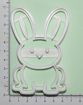 £4.60 • Buy Rabbit Cookie Or Fondant  Cutter 3d Printed