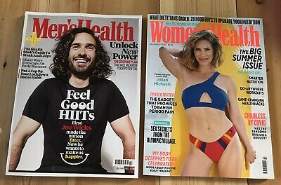 £1 • Buy Men's Health And Women Health Magazines July August 2021