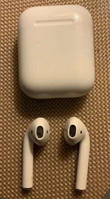 AU37.09 • Buy Apple AirPods White In Ear With Charging Case