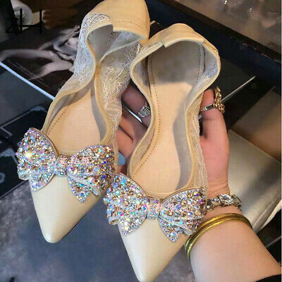 £6.25 • Buy 2 Lot Women Shoe Charms Clip Wedding Bridal Pointed Shoes Decor Jewelry