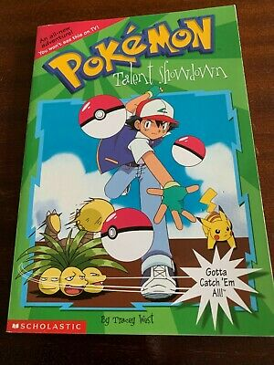 AU3 • Buy Pokemon: Talent Showdown Book By Tracey West, Paperback, Very Good Condition