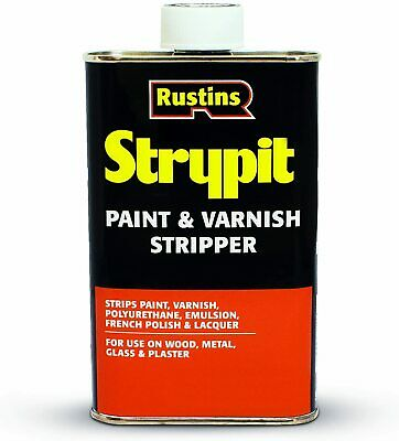 £12.21 • Buy RUSTINS STRYPIT PAINT & VARNISH REMOVER FOR WOOD METAL GLASS STONE 250ml