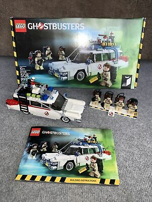 £69.99 • Buy LEGO Ideas Ghostbusters Ecto-1 (21108) Box & Instructions