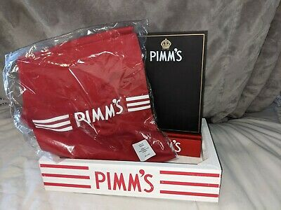 £25 • Buy Pimm's Promotion Pack Menu Board Wooden Tray Apron