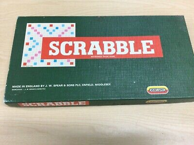 £5 • Buy Scrabble Board Game Spears Games Complete Good Condition