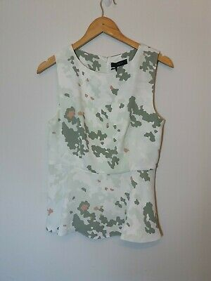 £2.99 • Buy BNWT NEW MARKS AND SPENCER AUTOGRAPH SIZE 10 BLOUSE TOP SLEEVELESS SUMMER Pp