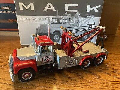 """$55 • Buy First Gear Mack-R-Model Tow Truck """"Ernest Holmes"""" 1/34 Scale"""