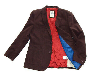 $13.96 • Buy RHINO RUGBY Mens Brown Cotton Blazer Jacket Smart Casual Sport Coat, Size L