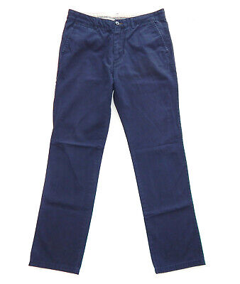 $ CDN8.64 • Buy SPRINGFIELD Mens Blue Straight Fit Chinos Trousers Jeans Pants, Size 32 (M)