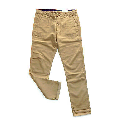 $ CDN12.10 • Buy SPRINGFIELD Mens Beige Slim Fit Stretch Chinos Trousers Jeans Pants, Size 32 (M)