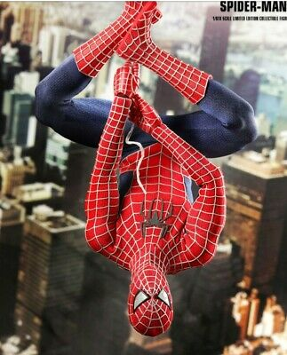 $ CDN314.71 • Buy Hot Toys Spider Man 3 Movie Masterpiece Action Figure MMS143 1/6 See Pics