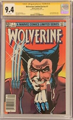 £544.66 • Buy Wolverine Limited Series #1 (1982) CGC 9.4 SS NEWSSTAND - Signed By Frank Miller