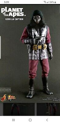$ CDN440.60 • Buy Hot Toys MMS Planet Of The Apes 1/6 Scale Figure Gorilla Captain See Pictures