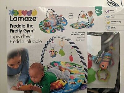 £16 • Buy Lamaze 3 In 1 Freddie The Firefly Gym For Sit And Play