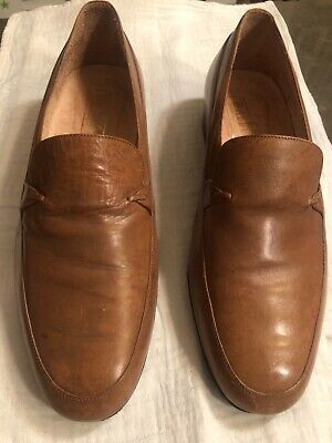 £18 • Buy Bally Men's Slip On Shoes,size 9, Tan Leather, Nice Smart Design, Casual Too!