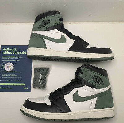 AU611.45 • Buy Jordan 1 Retro Clay Green Size 10 555088-135 USED OG ALL Verified Authentic!