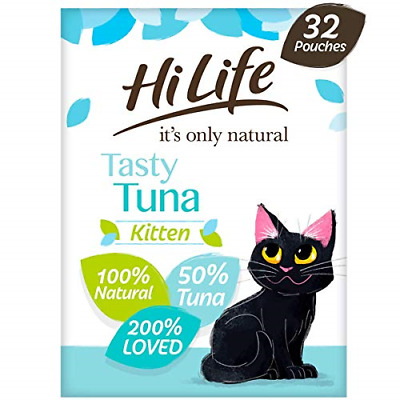 £31.35 • Buy HiLife It's Only Natural - Natural Grain Free - Complete Wet Kitten Food 1 To 12
