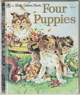 £1.03 • Buy Four Puppies - Anne Heathers - 1960 Little Golden Book