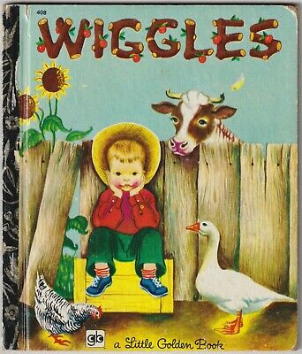 £0.66 • Buy Wiggles - Louise Woodcock - 1974 Little Golden Book