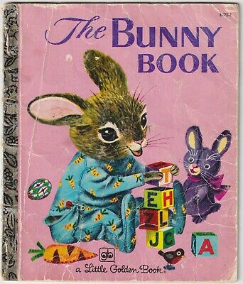 £0.53 • Buy The Bunny Book - Patsy Scarry - 1980 Little Golden Book