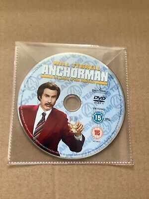 £0.50 • Buy Anchorman (DVD Disc Only)