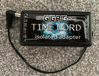 £40 • Buy Gigrig TimeLord 9v In / 9v 550 MA Isolated Out Guitar Pedal Board Power Supply