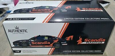 AU325 • Buy 1:18 Authentic Collectables Thomas Randle 2019 Scandia Racing Ford Mustang GT