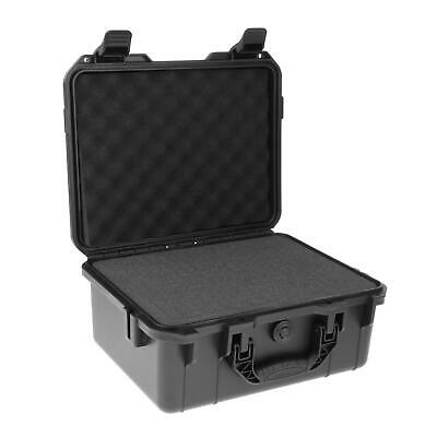 £44.55 • Buy ABS Plastic Waterproof Safety Instrument Case Portable Tool Box W/ Sponge