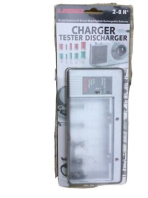 £9.99 • Buy UNIROSS RC100926 Battery Charger Tester & Discharger New & Sealed AA AAA C D 9V