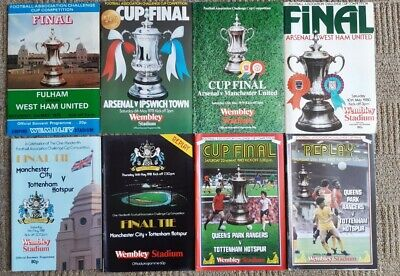 £15 • Buy Wembley Cup Final Programmes FA Cup,  League Cup, Charity Shield With Binder