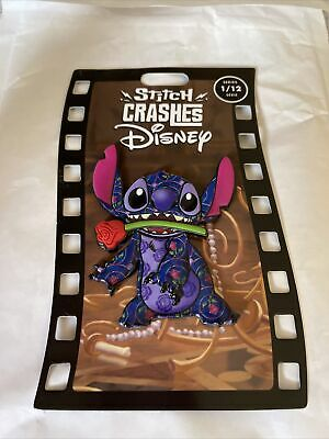 £21 • Buy Stitch Crashes Disney Beauty And The Beast Pin