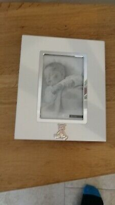 £3 • Buy Silver Photo Album For Christening With Photo Frame Cover