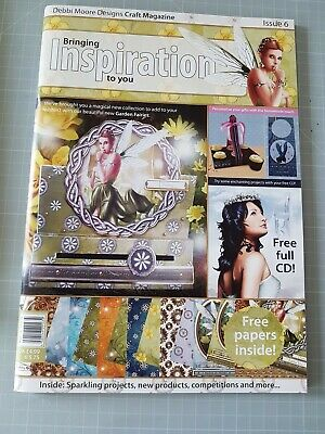 £5 • Buy Inspiration Papercrafting Magazine By Debbi Moore Issue 6 & Accompanying CD Rom