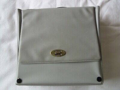 £9.99 • Buy Vintage Original 1960's RECORD CARRYING CASE For 7  Singles Grey