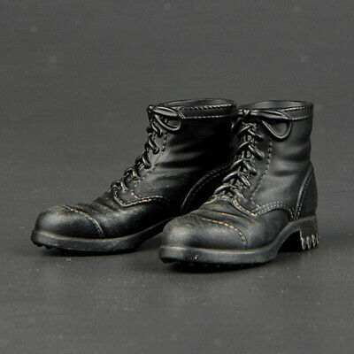 £5.03 • Buy 1:6 Scale WWII Soldier Handmade Combat Boots Fit 12'' Action Figure Body