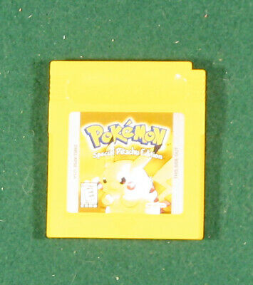 $45 • Buy Pokemon Yellow Version: Special Pikachu Edition (Game Boy, 1999) Authentic