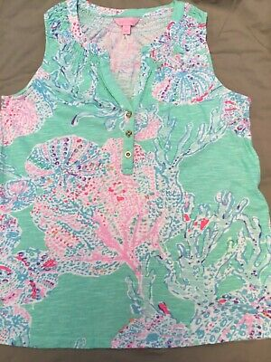 $22.99 • Buy Lilly Pulitzer Women's Bailey  Top,  Size  Small