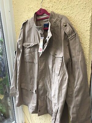 $34.92 • Buy Mens COTTON TRADERS 3XL XXXL Rich Taupe Field Cargo Utility Jacket New With Tags