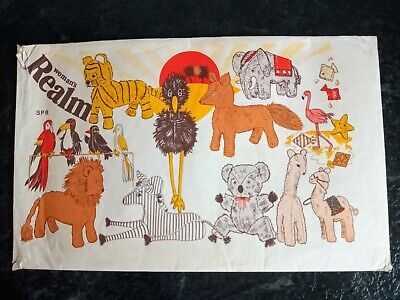 £9.99 • Buy Vintage Womans Realm SP8 Sewing Pattern 15 Soft Animal Toys UNCUT Factory Folded