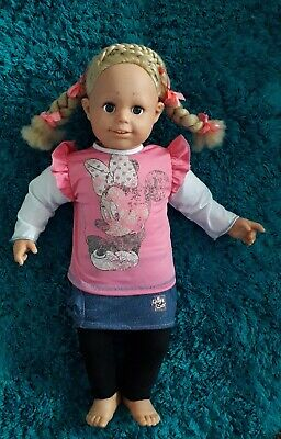 £6.99 • Buy  Large Smoby Toddler Doll Rosie Approx 24 Inches Vinyl/soft Body Good Clean Cond