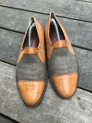 £14.50 • Buy Vintage Bally Brown Leather Mens Slip On Shoes 8.5. Condition Is  Used