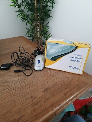 £35.99 • Buy Bierley Handheld Electronic Magnifier. Connects To TV Via Scart Lead. Pre Owned