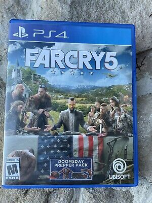 AU16.31 • Buy Farcry5 ( Sony Playstation 4, PS4) Tested. With Manuel (7)