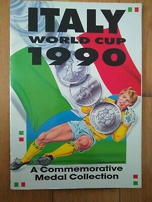 £29.99 • Buy Italy World Cup 1990 - A Commemorative Medal Collection - Complete