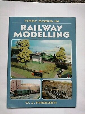 £9.99 • Buy FIRST STEPS IN RAILWAY MODELLING C.J.Freezer - Good Condition