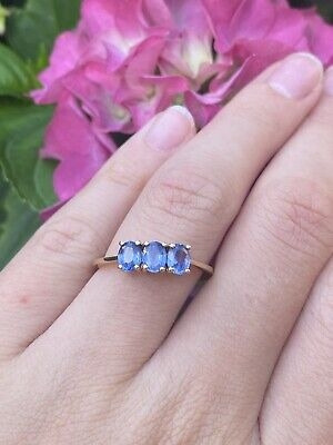 £65 • Buy 9ct Sapphire Gold Ring
