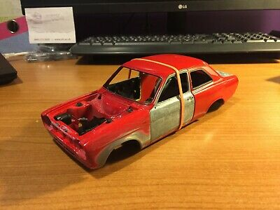 £19.99 • Buy 1/18 Scale, Minichamps, Ford Escort Mk1 Shell (2), Red, Spares Or Repairs