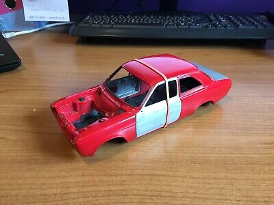 £19 • Buy 1/18 Scale, Minichamps, Ford Escort Mk1 Shell (3), Red, Spares Or Repairs